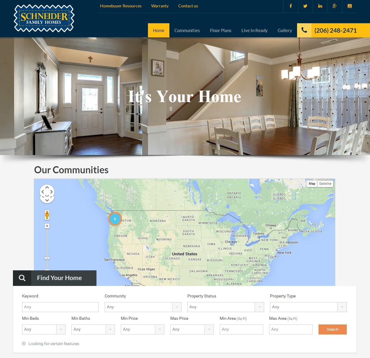 Schneider Homes   Exceptional Standards